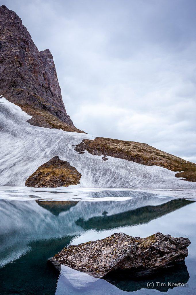Glacial Lake in Spring